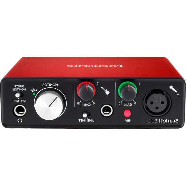 Microfono focusrite - Satisfait ou Remboursé
