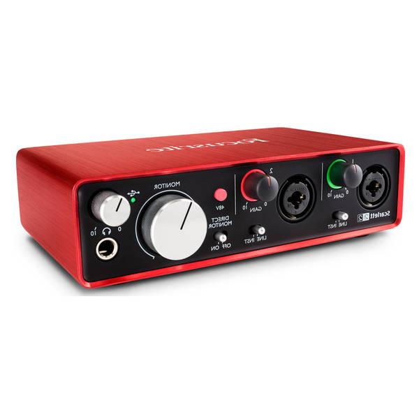 Focusrite scarlett solo 3rd gen audio interface - Guide d'achat