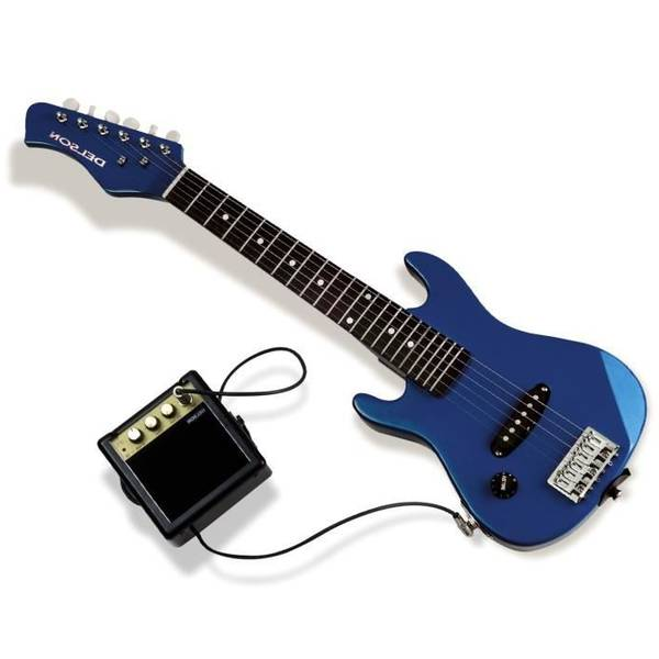 guitare electrique rouge