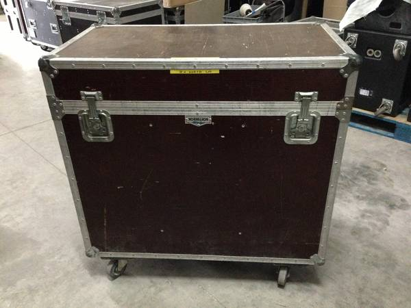 Guitar pedalboard flight case